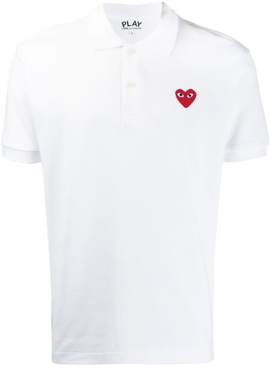 Comme des Garcons chest logo polo shirt