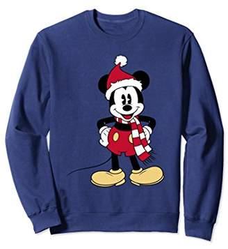 Disney Santa Mickey Mouse Sweatshirt