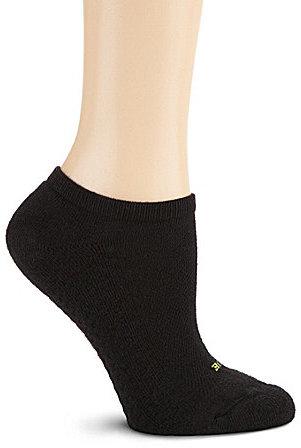HUE Air Cushion Sport Mesh Top No-Show Socks 3-Pack
