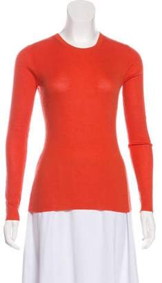 Michael Kors Long Sleeve Cashmere Top