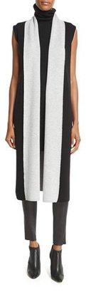 Alice + Olivia Laurie Long Knit Wool Vest, Black $264 thestylecure.com