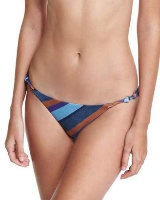 Vix Striped Chambray Rope Swim Bottom $98 thestylecure.com