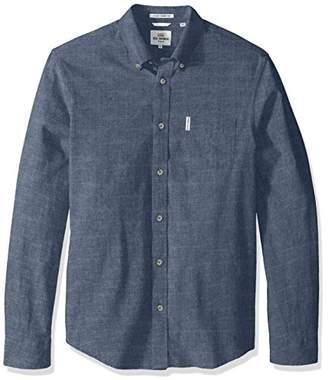 Ben Sherman Men's Longsleeve Chambray Woven Shirt