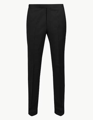 Marks and Spencer Slim Fit Wool Trousers