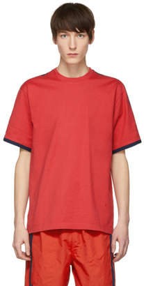 CHILDS Red and Navy Clean Ringer T-Shirt
