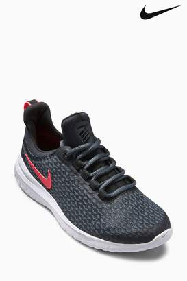 Next Girls Nike Run Black/Pink Lunar Renew