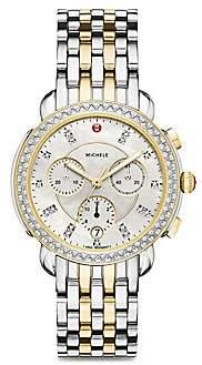 Michele Women's Sidney Chronograph Bracelet Watch