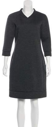 Tomas Maier Knee-Length Long Sleeve Dress