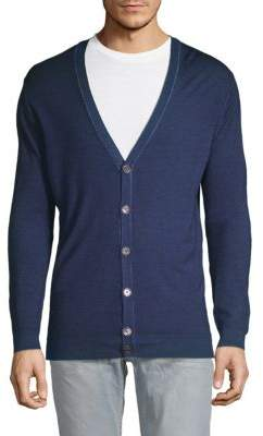 Robert Graham Channa Wool & Silk Cardigan