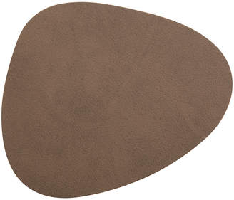 Lind Dna LIND DNA - Curve Drinks Coaster - Brown