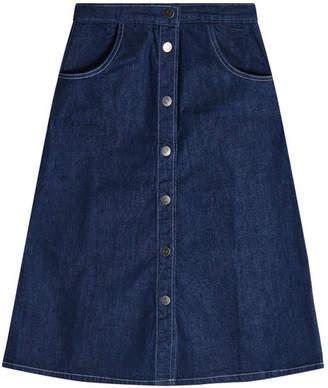 MiH Jeans Callcott Denim Skirt