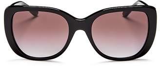 Tory Burch Women's Polarized Square Sunglasses, 52mm
