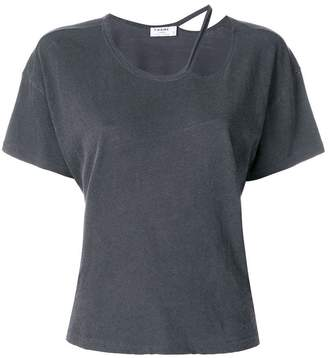 Frame torn neck T-shirt