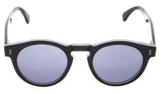 Illesteva Leonard Keyhole Sunglasses