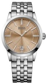 Hugo Boss 1513134 Stainless Steel Bracelet Strap Sunray Watch One Size Assorted-Pre-Pack $235 thestylecure.com