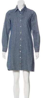 Tommy Bahama Long Sleeve Button-Up Dress