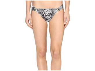 Tommy Bahama Snake Charmer Shirred Hipster Bottom with Trim Women's Swimwear