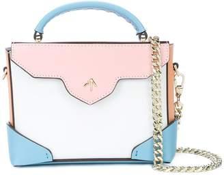 Atelier Manu foldover colorblocked bag