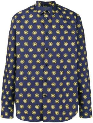 Versace Medusa dot print shirt