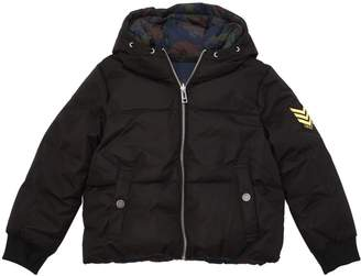 Zadig & Voltaire Reversible Hooded Nylon Puffer Jacket