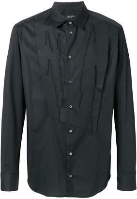 Tom Rebl reconstructed bib shirt