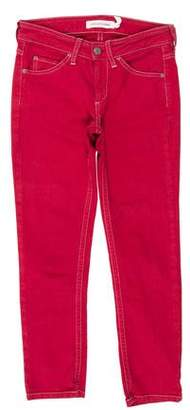 Etoile Isabel Marant Low-Rise Skinny Jeans