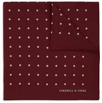 Turnbull & Asser Basic Dot Pocket Square