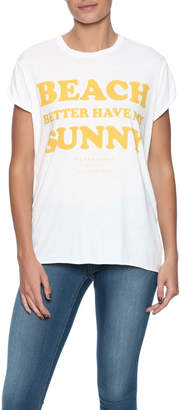 The Laundry Room Sunny Rolling Tee $60 thestylecure.com