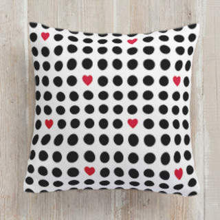 Love is in the Air Square Pillow