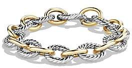 David Yurman Women's Oval Large Link Bracelet with Gold