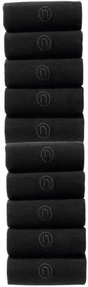 d0eac2f9d2f3f Next Mens Black N Logo Socks Ten Pack - Black
