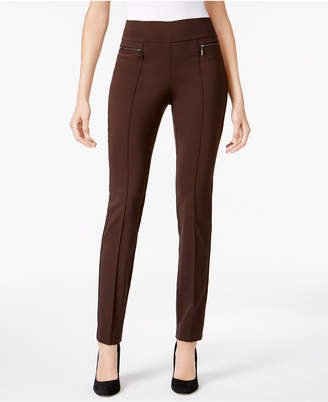 Style&Co. Style & Co Petite Seamed Pull-On Skinny Pants, Created for Macy's