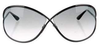 Tom Ford Oversized Gradient Sunglasses