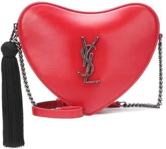 Saint Laurent Heart Mini leather shoulder bag