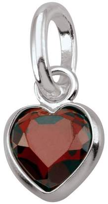 Persona Sterling Silver PersonaPhi Charm, Birthstone Collection, January