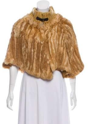 ICB Fur Poncho