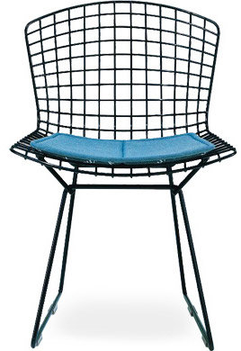 Knoll bertoia side chair with seat cushion