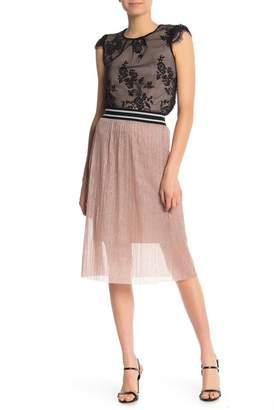 June & Hudson Atgetic Band Skirt