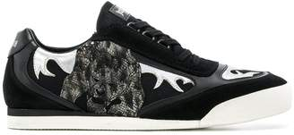 Just Cavalli patch sneakers