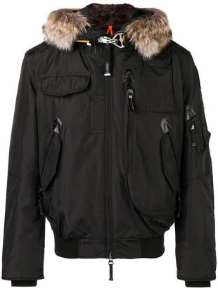Parajumpers fur trimmed jacket
