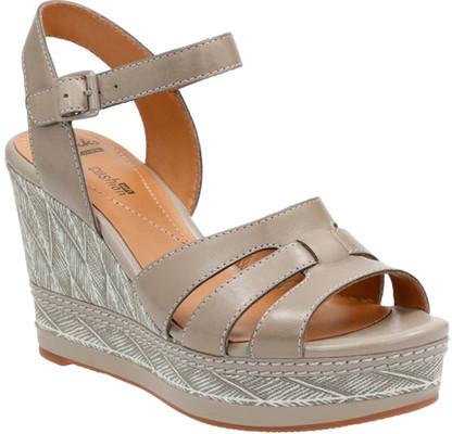 ClarksWomen's Clarks Zia Noble Wedge Ankle Strap Sandal