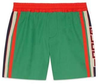 Gucci Children's bermuda short with stripe