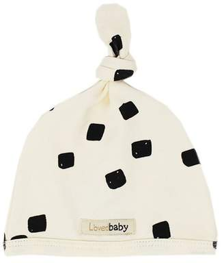 L'ovedbaby Top-Knot Hat Beige Stone 0-3 Months