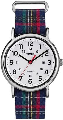 Timex Women's Weekender Plaid Watch - TW2R10900JT $49.95 thestylecure.com