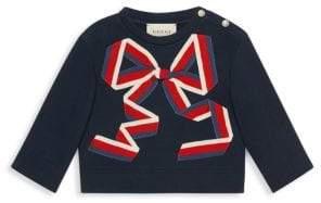 Gucci Baby's Bow Sweatshirt