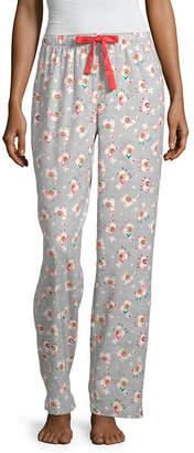SLEEP CHIC Sleep Chic Womens Flannel Pajama Pants - Petite