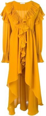 Philosophy di Lorenzo Serafini ruffle asymmetric dress