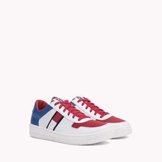 Tommy Hilfiger Leather Perforated Sneaker