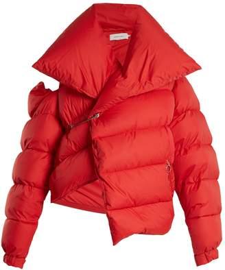 MARQUES'ALMEIDA Asymmetric down jacket