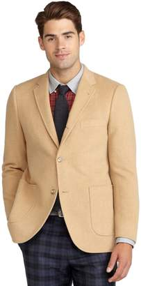 Brooks Brothers Cambridge Camel Hair Patch Pocket Jacket